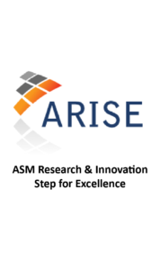 ASM Research & Innovation Step for Excellence